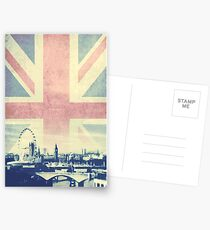 Sherlock London Union Jack Postcards
