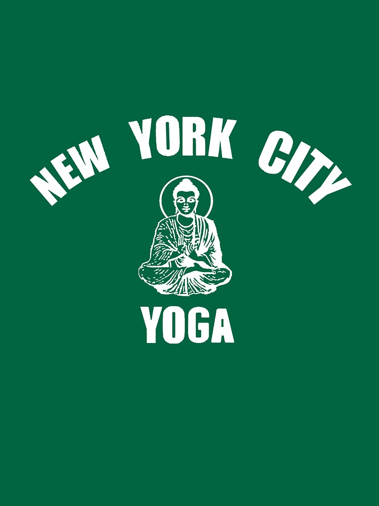 """New York City Yoga"" T-shirt By Ardentis"