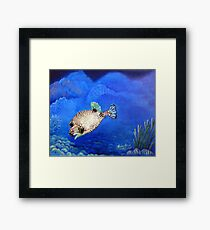 Casper - Ocean Series Tropical Fish Framed Print