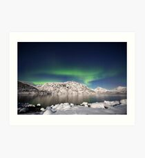 Arctic night Art Print