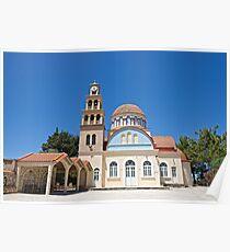 The Island of Crete Poster
