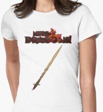 Dragon Hunter's Sword Women's Fitted T-Shirt