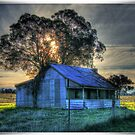 Borenore Hut at Sunset by pedroski