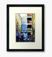 Melbourne Lane Way 101 Framed Print