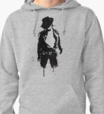 Michael Jackson ink Portrait Pullover Hoodie