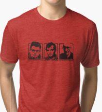 Beat Trinity: Kerouac, Burroughs and Ginsberg  Tri-blend T-Shirt