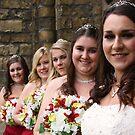 Bride and Bridesmaids by Darren Glendinning