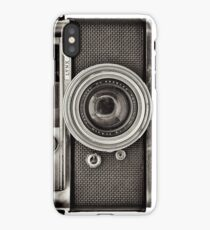 YASHICA_B&W iPhone Case/Skin