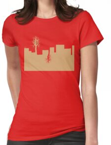 City Trees 2 Womens Fitted T-Shirt