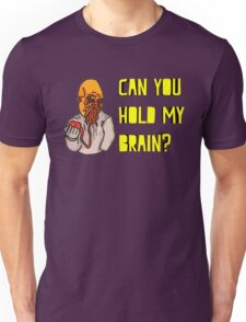 Can You Hold My Brain? (Ood) - Yellow Unisex T-Shirt