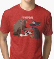 I Am Thankful For Pinnipeds Tri-blend T-Shirt