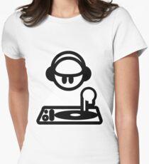 Mixer Women's Fitted T-Shirt