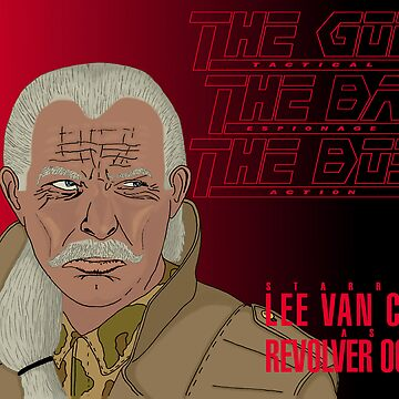 The Good, The Bad and The Boss - A Metal Gear Movie (Ocelot) by LaGueule