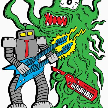 Robot Monster Power Jam by jarhumor