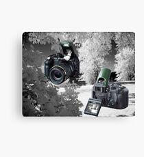 ☀ ツMY FUGIFILM Is-1 INFRARED CAMERA INSIDE,PICTURE TAKEN WITH THE INFRARED CAMERA ☀ ツ Leinwanddruck