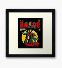 Hunter Comic Framed Print