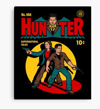 Hunter Comic Canvas Print