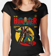 Hunter Comic Women's Fitted Scoop T-Shirt
