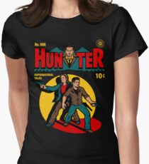 Hunter Comic Women's Fitted T-Shirt