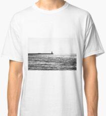 Man on the pier Classic T-Shirt