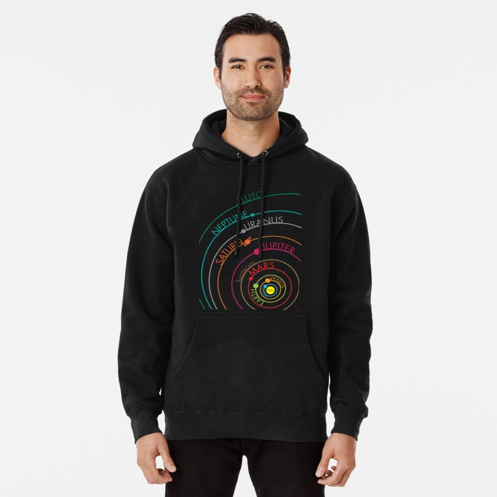 Solar System Pullover Hoodie