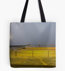 Wow, a great shot of the sunrise! Tote Bag