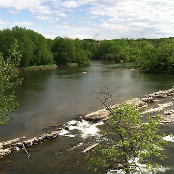 Winooski River by Rystall