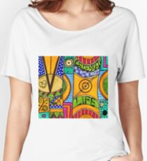 Living a VIBRANT Life Women's Relaxed Fit T-Shirt