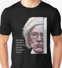Advice from Warhol Unisex T-Shirt