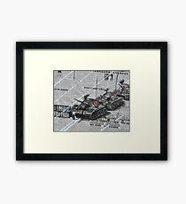 Tank Man of Tiananmen Framed Print