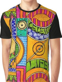 Living a VIBRANT Life Graphic T-Shirt