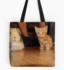 tiny kitty Tote Bag
