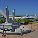 USS Arizona Anchor by David Davies