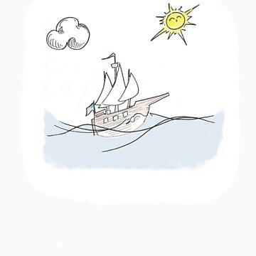 At Sea by ldsdonuts