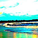 Chasing Stripers, 'Gansett Town Beach, RI by jroch