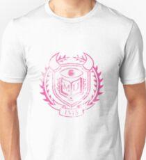 PNK Themed Distressed Logo Slim Fit T-Shirt