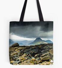 Elgol, Looking across the sea towards the Cuillins, Isle of Skye, Scotland Tote Bag