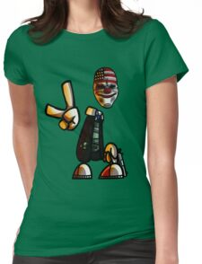 Rayman/Payday Crossover  Womens Fitted T-Shirt