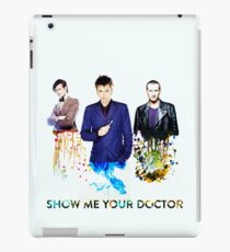 Show me your doctor iPad Case/Skin