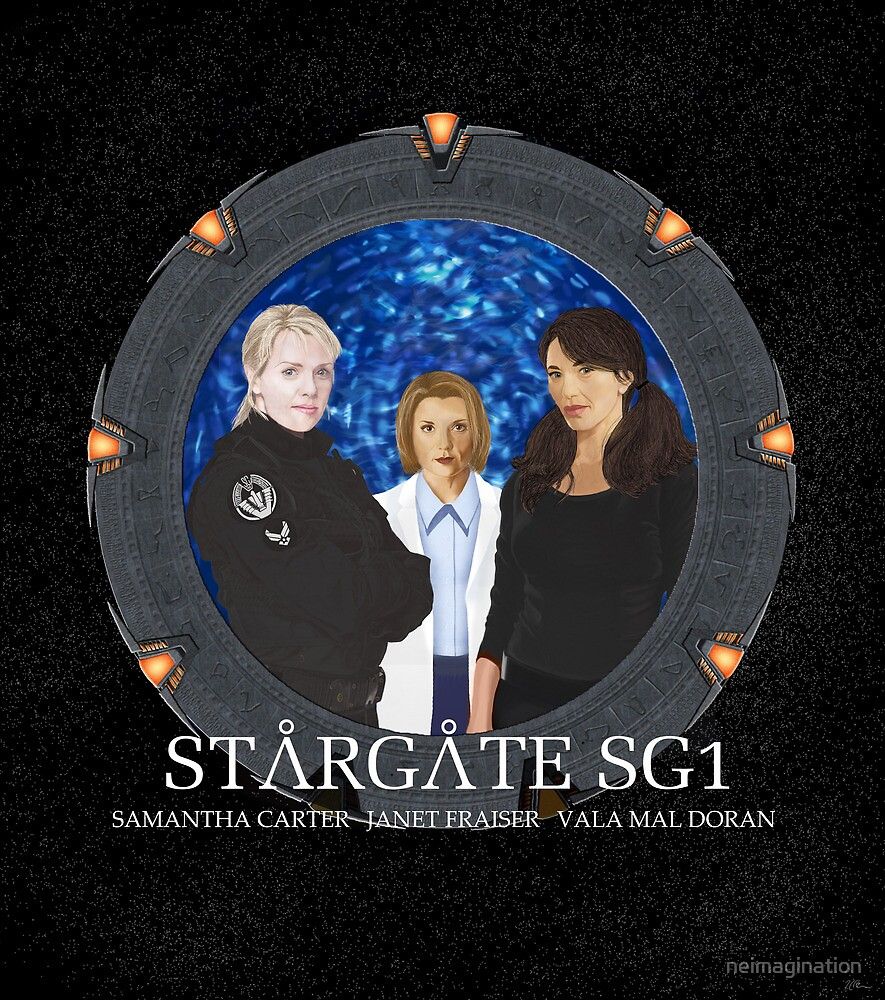 The Women of Stargate SG1 by neimagination