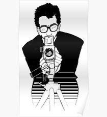 Elvis Costello - This Year's Model - Illustration Poster