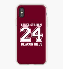 Stiles Stilinski #24 iPhone Case
