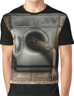 Lazy Washing Graphic T-Shirt