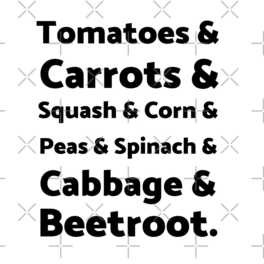 List of Vegetables by Sweevy Swag
