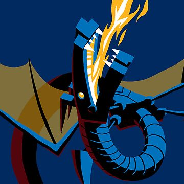 Robotic Dragon by etall