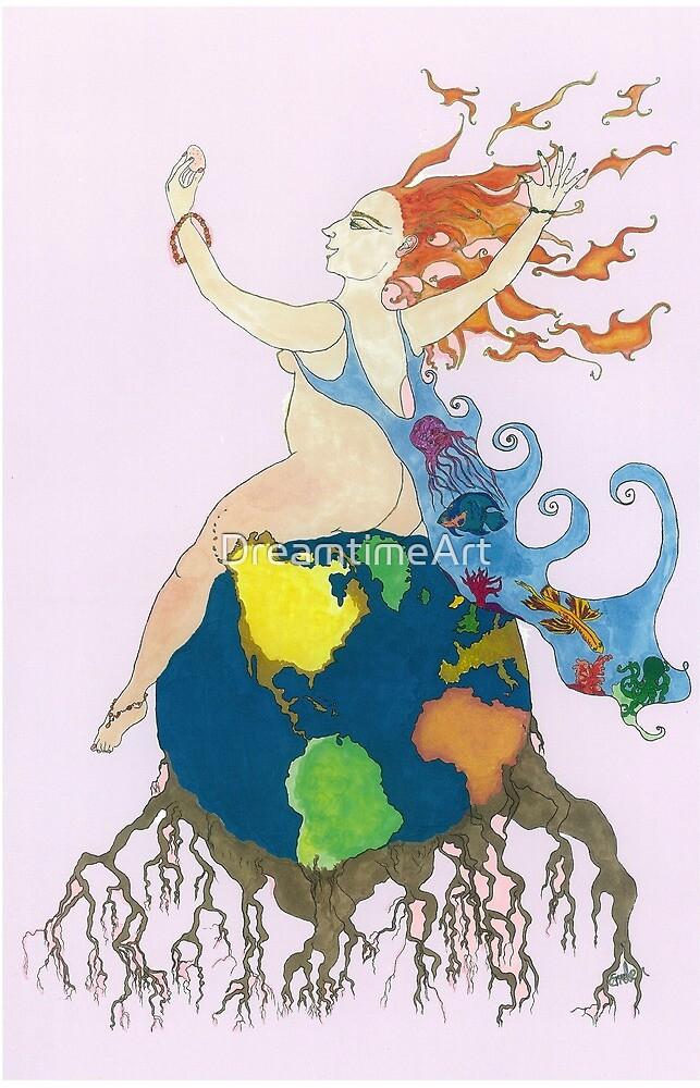 Earth Goddess by DreamtimeArt