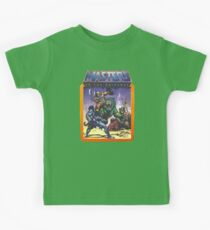 He-Man Masters of the Universe Battle Scene with Skeletor Kids Tee