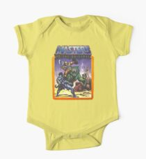 He-Man Masters of the Universe Battle Scene with Skeletor One Piece - Short Sleeve