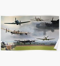 Spirit of Bomber Command Poster