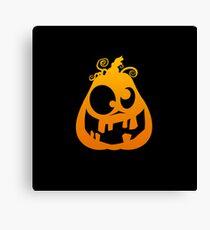 Pumpkin Goofy Canvas Print